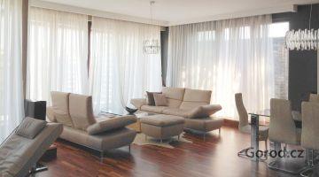 Презентабельная квартира 3+кк, 126м2, с террасой 30м2, Прага - Голешовице