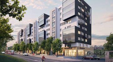 Новая квартира 1+kk, 36m², Прага 4, Михле