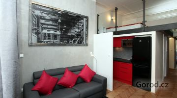 Нестандартная квартира 85m², Прага 1