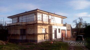 Новый дом 6+1 на окраине Праги