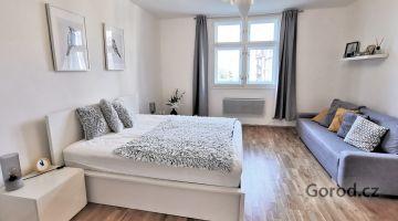 Квартира 1+кк, 32м2, Прага 2, Винограды